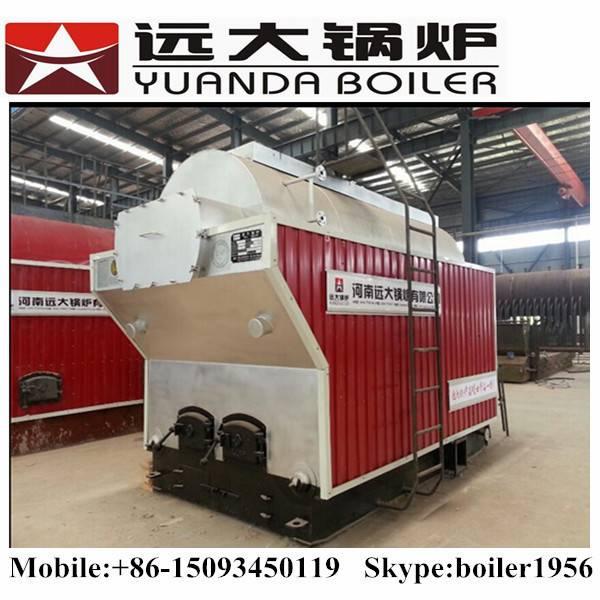 1 ton 2 ton 4 ton 6 ton Wood fired boiler