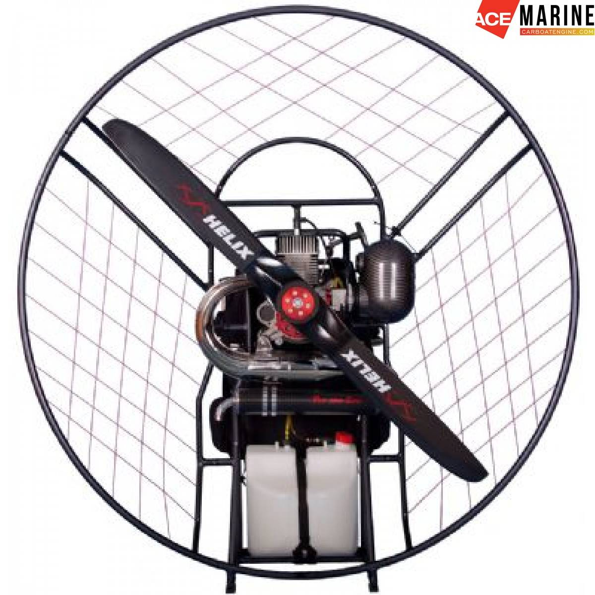EC-10 WITH THE NEW EOS100 PARAMOTOR