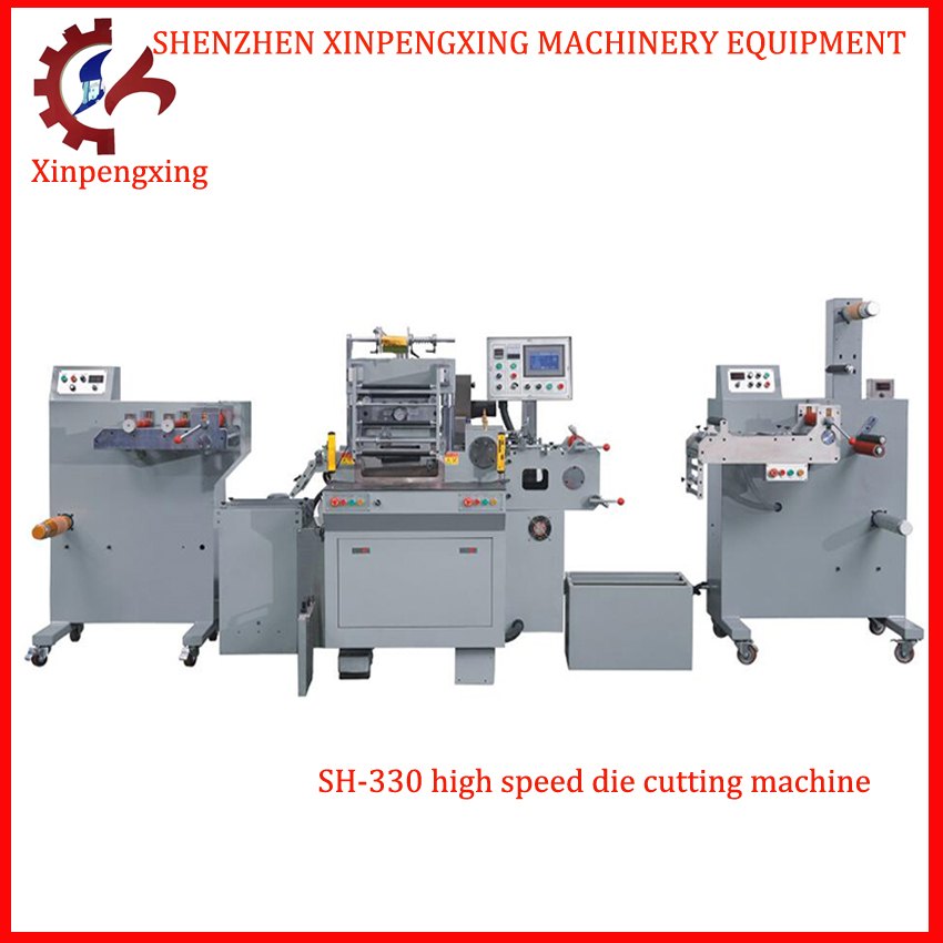Adhesive Sticker Label Die Cutting Machine