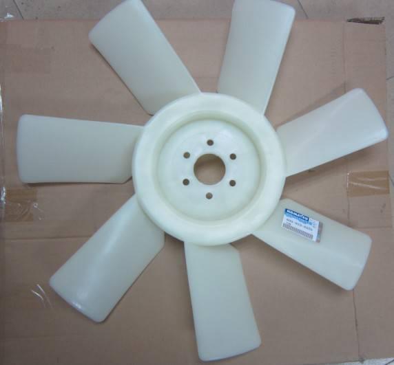 komatsu  engine parts fan