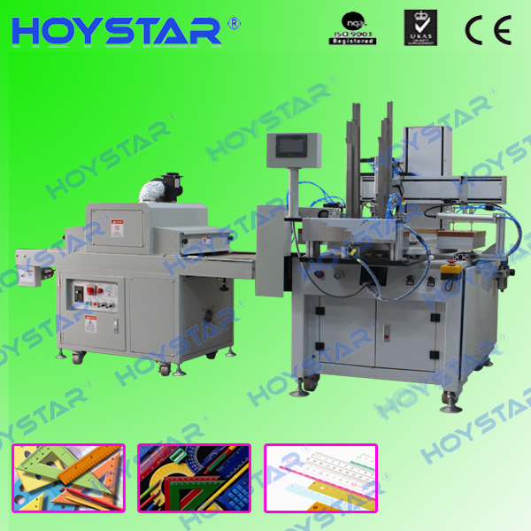 ruler automatic single color screen printing machine