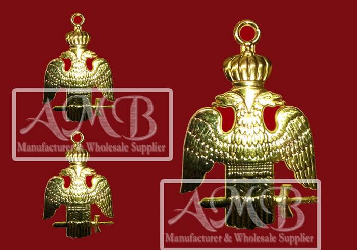 33-degree Masonic collar jewel