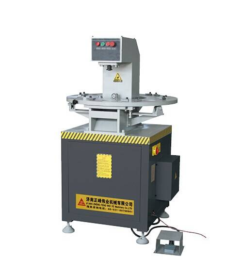 Pressing machine for aluminum window & door