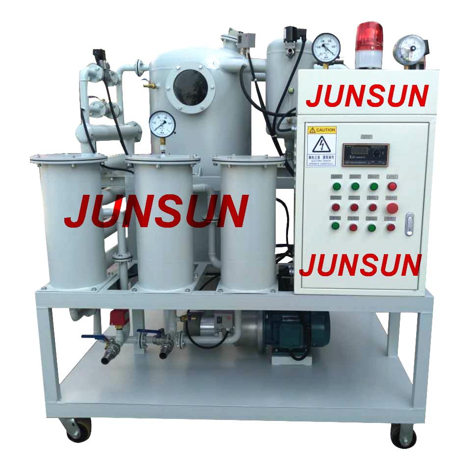 2018 Hot Selling Chongqing JUNSUN Continuous Transformer Oil Reconditioning Machine