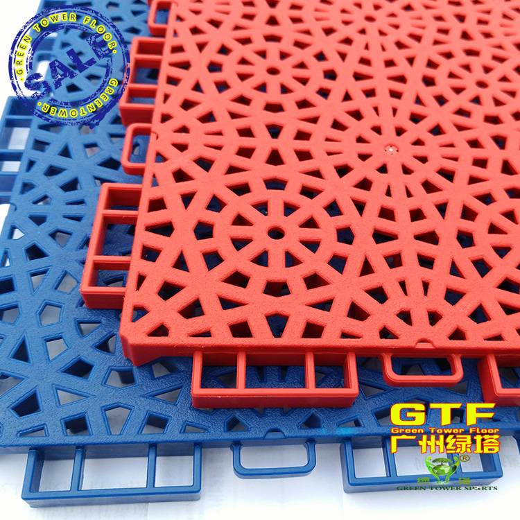 PP Sports Interlocking Flooring for Playground