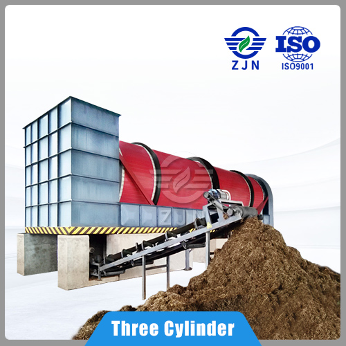 ZJN High efficient and low cost Rotary Drying for Coconut Coir Drying