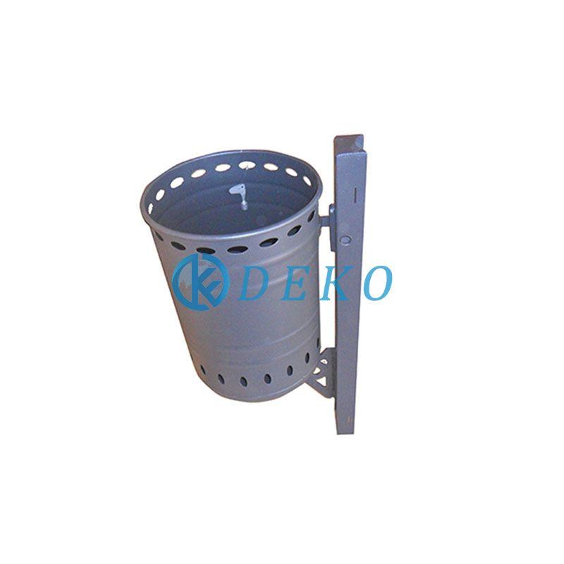 DK DUSTBIN 09,STEEL GALVANIZED Urban Dustbin Steel Galvanized Dustbin