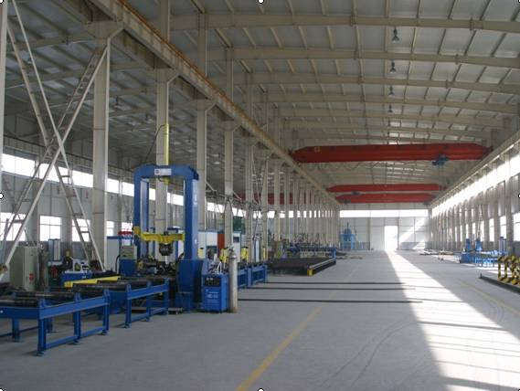 Light steel structure buildings, workshop/warehouse project