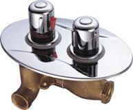 Concealed Thermostatic Faucet For Shower