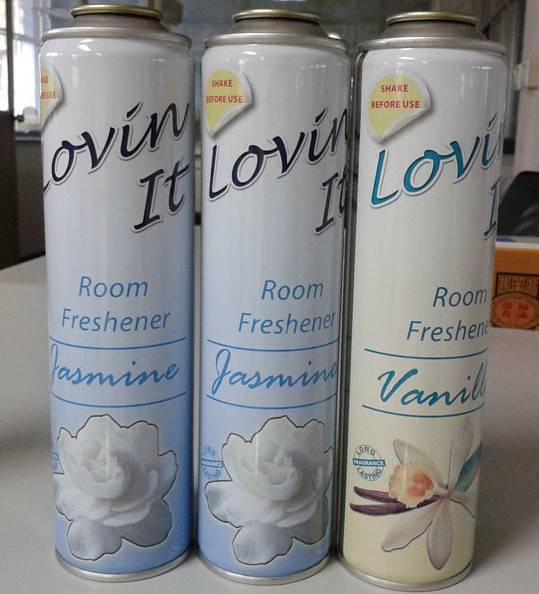 Necked-in aerosol can Diam.52mm for air freshener/ body spray deodorant