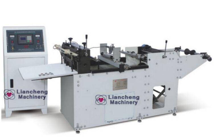 LC-350C High speed cutting machine printed film, shrink film, battery label, bottle label,