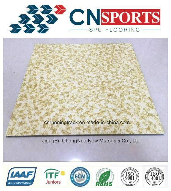 SPU Resilient Rubber Flooring