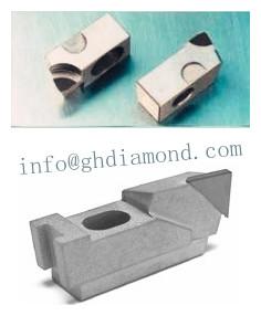 Diamond PCD PCBN milling cartridge insert