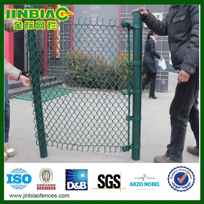 Chain Link Fence/PVC Chain Link Fence/Galvanized Chain Link Fence(factory)