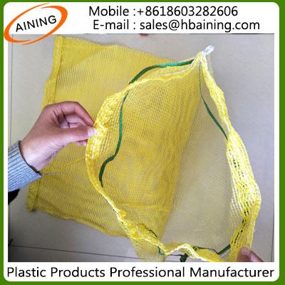 PP/PE Leno Raschel Mesh Net Bag