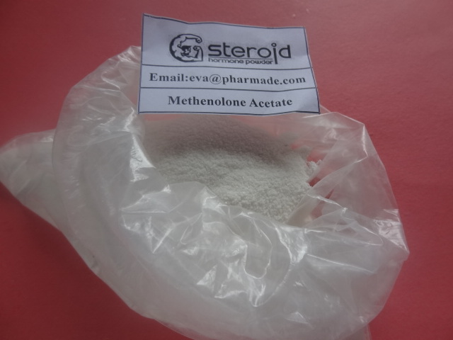 Oral Steroid Drug CAS 434-05-9 Methenolone Acetate Primonolan Steroid Powder