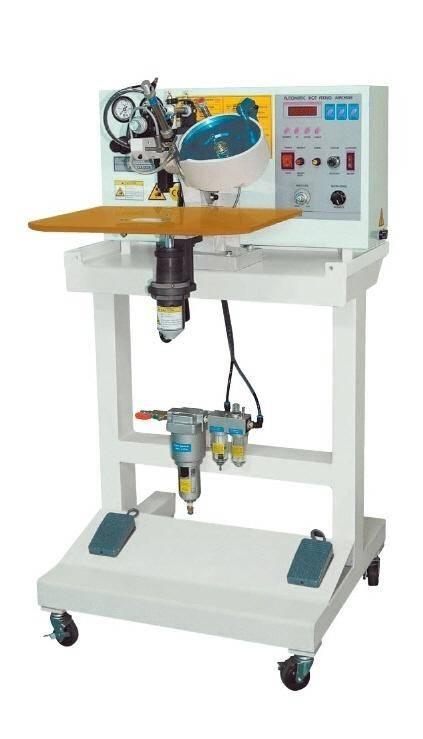 AM-1300 , Ultrasonic Hot Fix Setting Machine