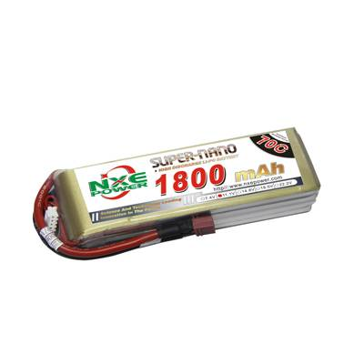 NXE1800mAh-70C-11.1V Softcase RC Helicopter Battery