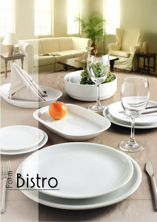 Porcelain Dinnerware (P05-Bistro)