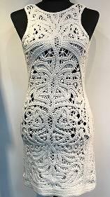 women lace crochet
