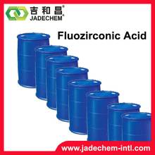 Cleaning agent for metal surfaceHexafluorozirconic acid 12021-95-3
