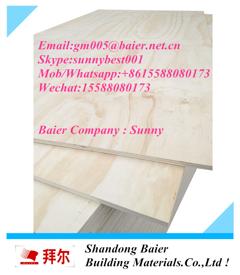 good quality china supplier best price commercial plywood NAF