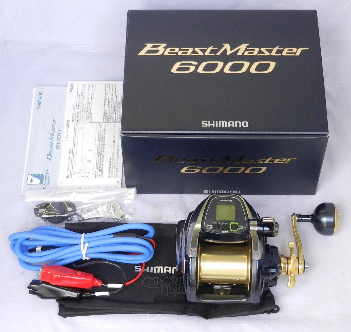 New Shimano Beast Master 6000 Electric Reel