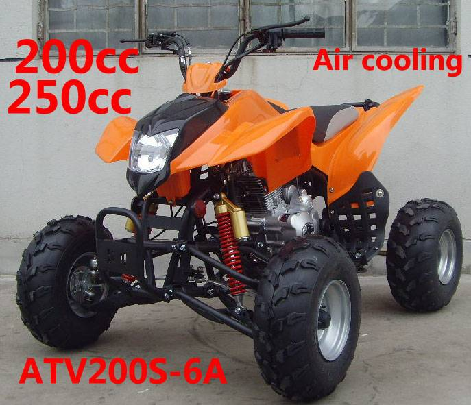 250cc  air cooled Raptor:  ATV250S-11