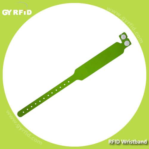 NFC Disposable PP Wristband for event ticket(GYRFID)