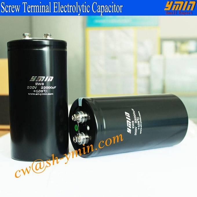 Super Capacitor Screw Lead Terminal Electrolytic Capacitor