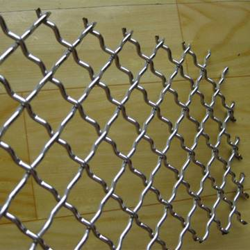 Hot-dip Galvanized Crimped Wire Mesh
