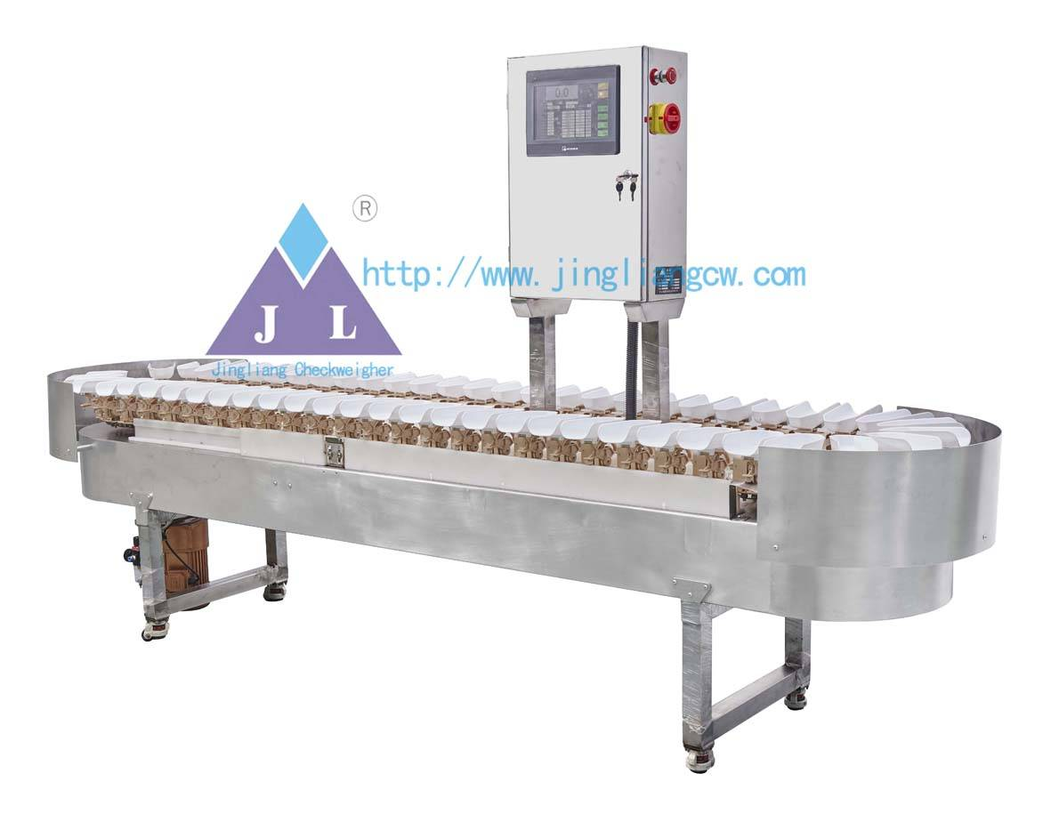 Waterproof weighing sorting checkweigher JLCW-5000-6D
