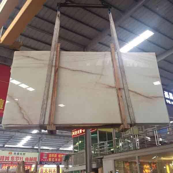 white onyx marble slabs