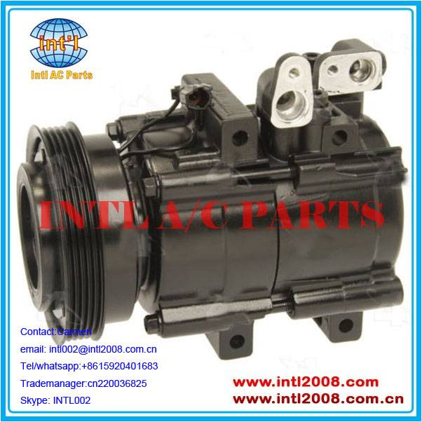 for Kia Optima auto ac compressor pump 5PK 2021497 2021497R 2021717 Four Seasons 57187