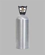 Aluminium beverage CO2 cylinder