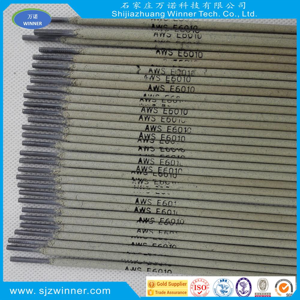 China supplier aws e6010 welding electrode carbon steel welding electrode 3.2mm