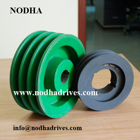 V belt pulley cast iron pulley