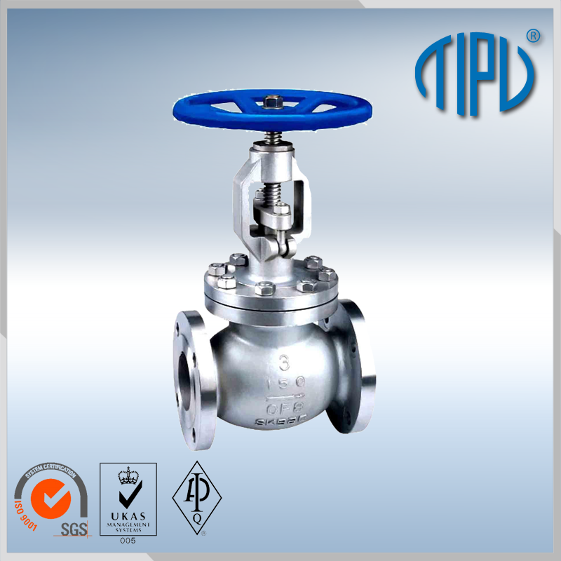 WCB/WCC/WC1 flanged globe valve