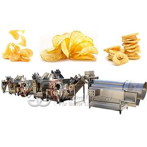 Automatic Potato Chips Making Machine On Sale