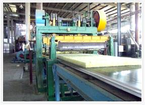 Building insulation Glass wool production line