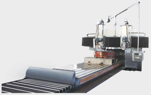 CNC fixed-beam gantry guide-way grinding machine
