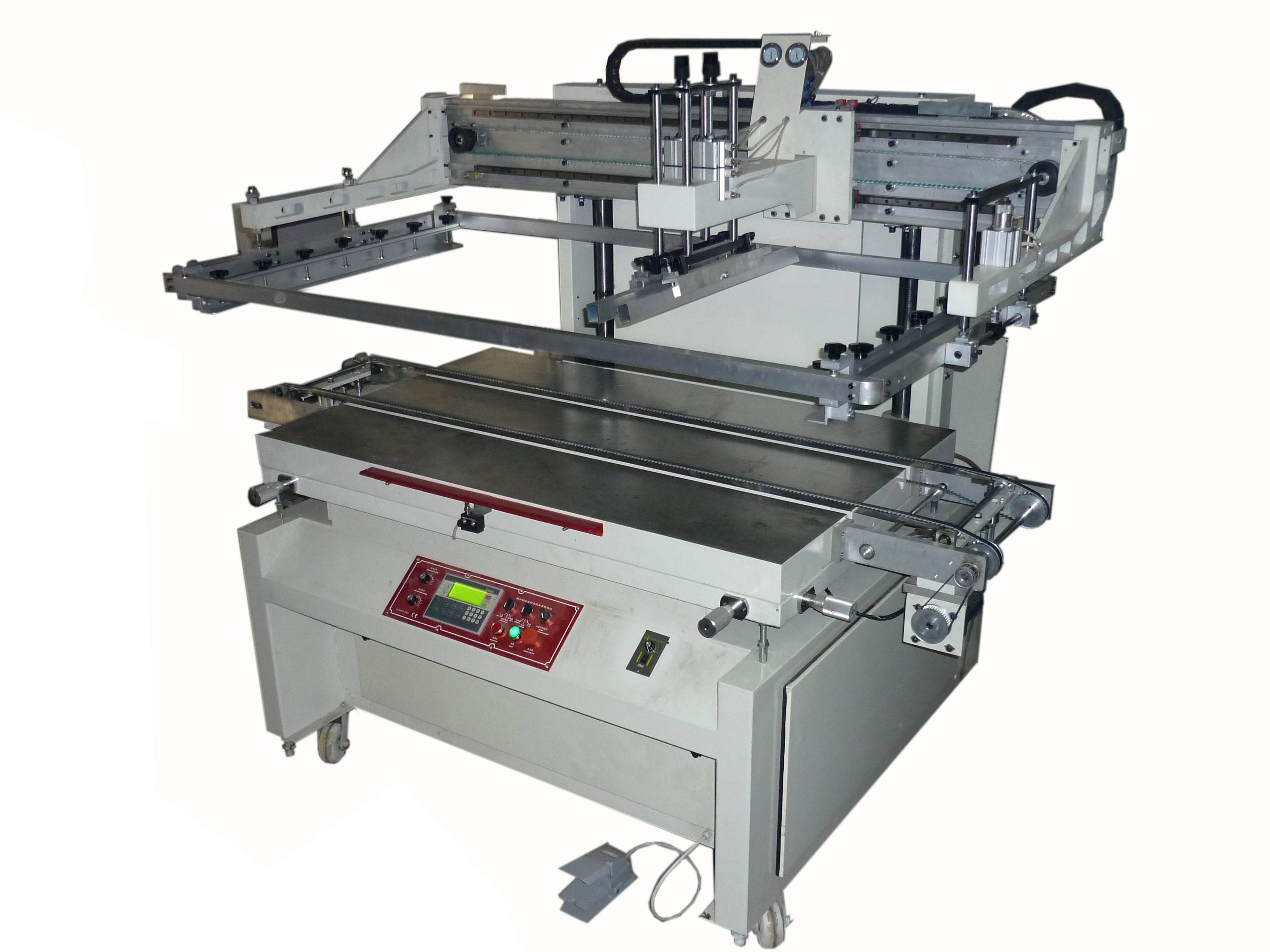 auto screen printing machine