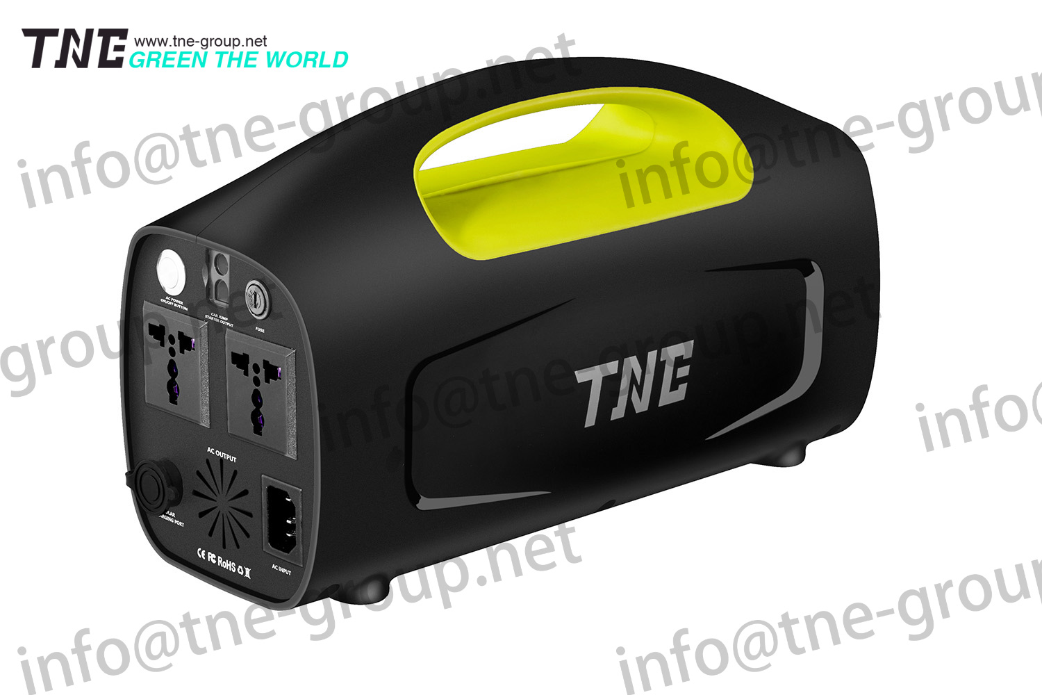 TNE UPS parallel redundant design Low Battery Alarm Outdoor UPS