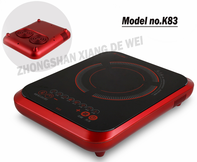 All new CE RoHS design excellent quality with high efficient cooling system induction hob