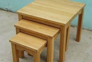 nesting stool set of three