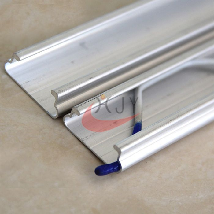 Greenhouse Film Aluminum locking Channel Lock Profile