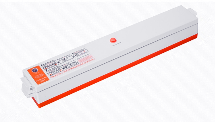 Automatic household vacuum sealer for food