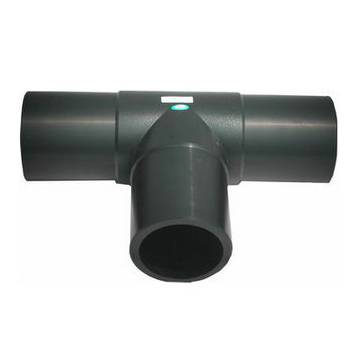 Butt weld tee pipe fitting