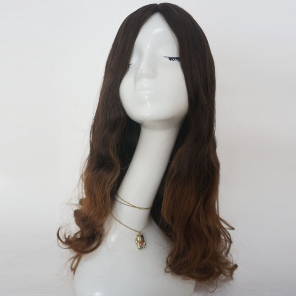 High quality Mongolian hair Jewish wigs