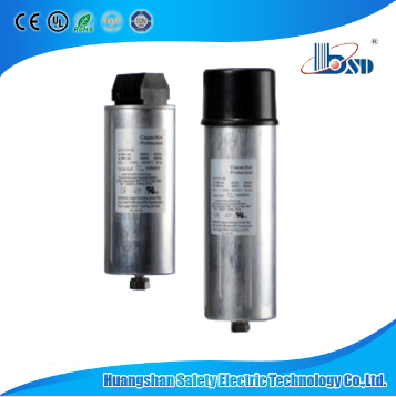 BKMJ Low Voltage Cylindrical Shunt Self-Healing Power Capacitor